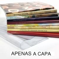 Capa P/Livros Grandes Transparente