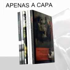 Capa P/Livros pequenos  - Transparente