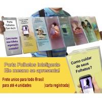 Porta Folhetos Transparente