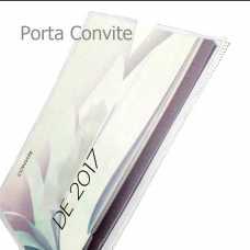 Porta Convite Transparente