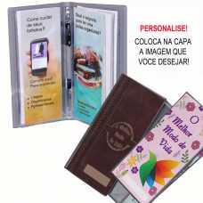 Porta Folhetos - Publicador para personalizar - Cinza