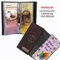 Porta Folhetos - Publicador para personalizar - Preto