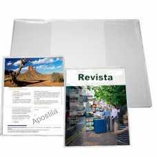 Capa p/Revista ou Apostila Transparente