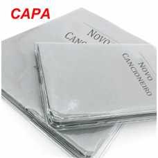 Capa P/Cancioneiro Novo Transparente - Grande e Pequeno